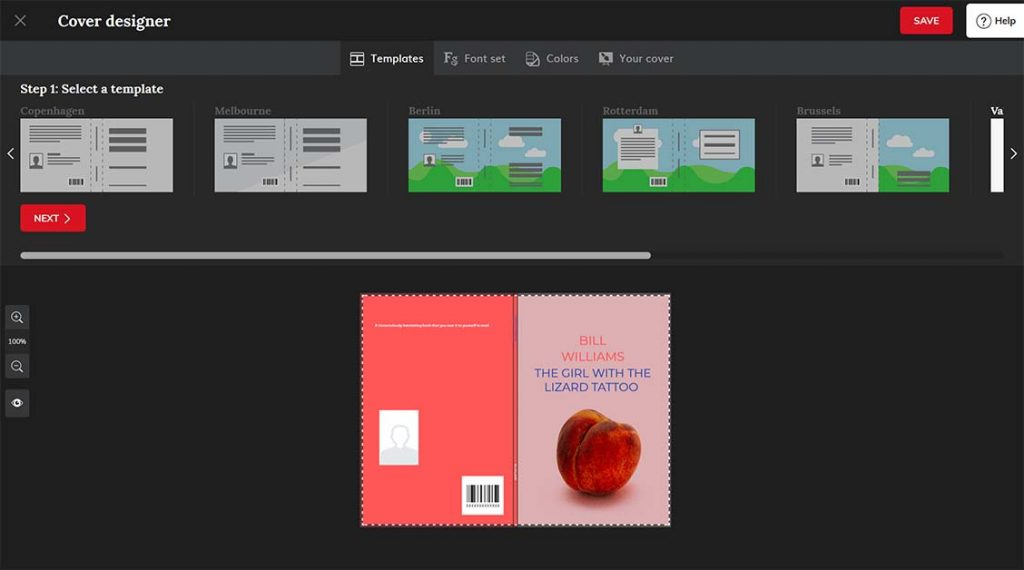 Mijnbestseller cover designer software